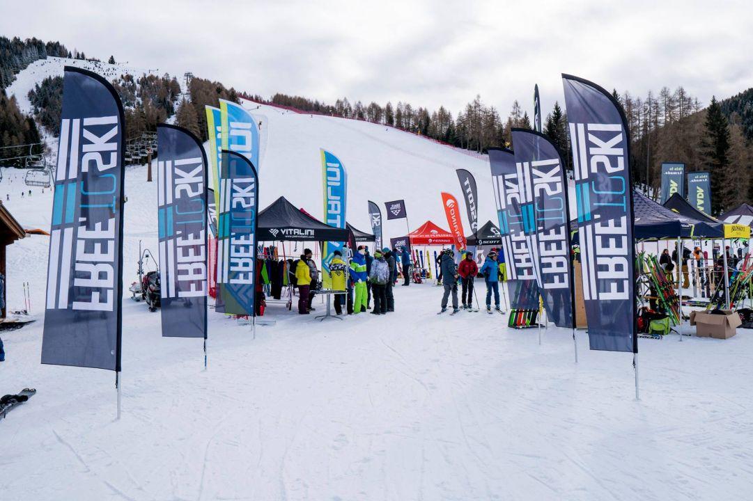 Free To Ski alla seconda edizione. Bardonecchia e Folgaria ospiteranno il tour dedicato a tutti i dealer italiani