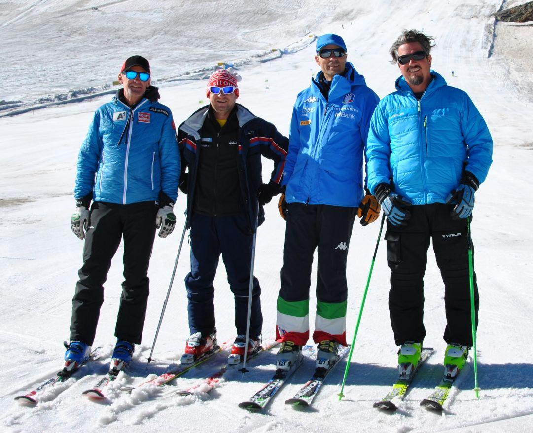 Da oggi è aperto il ghiacciaio della Val Senales per gli allenamenti delle squadre agonistiche