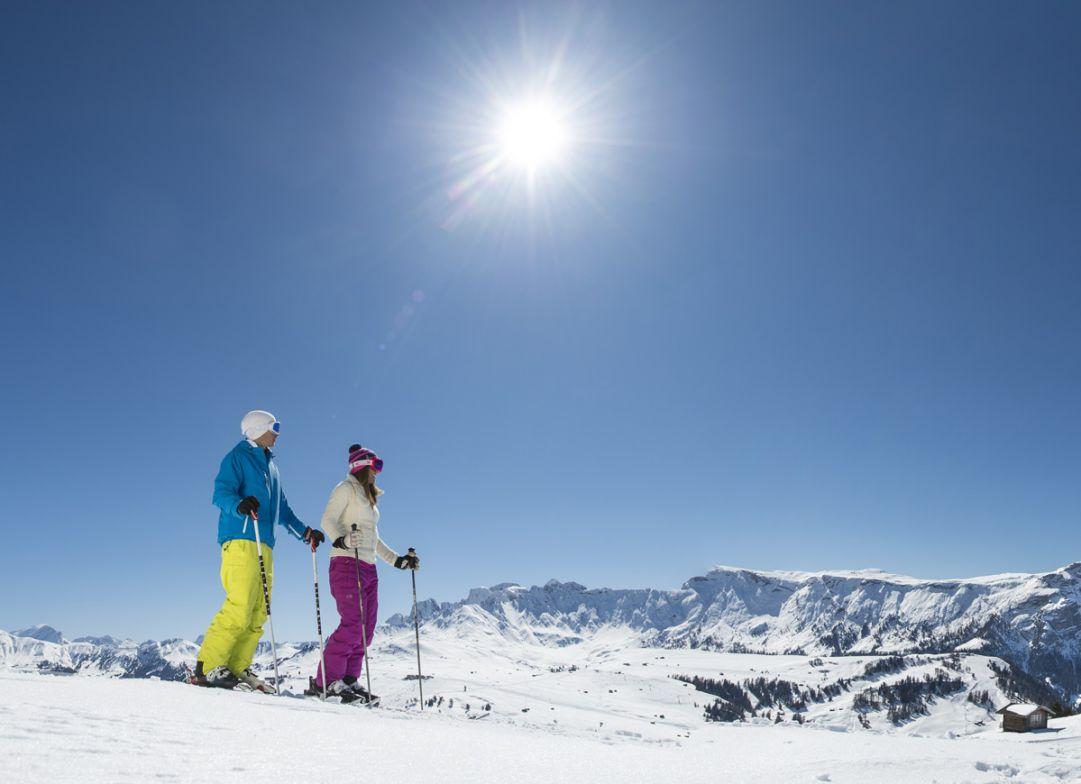 Vacanze sugli sci all'Alpe di Siusi
