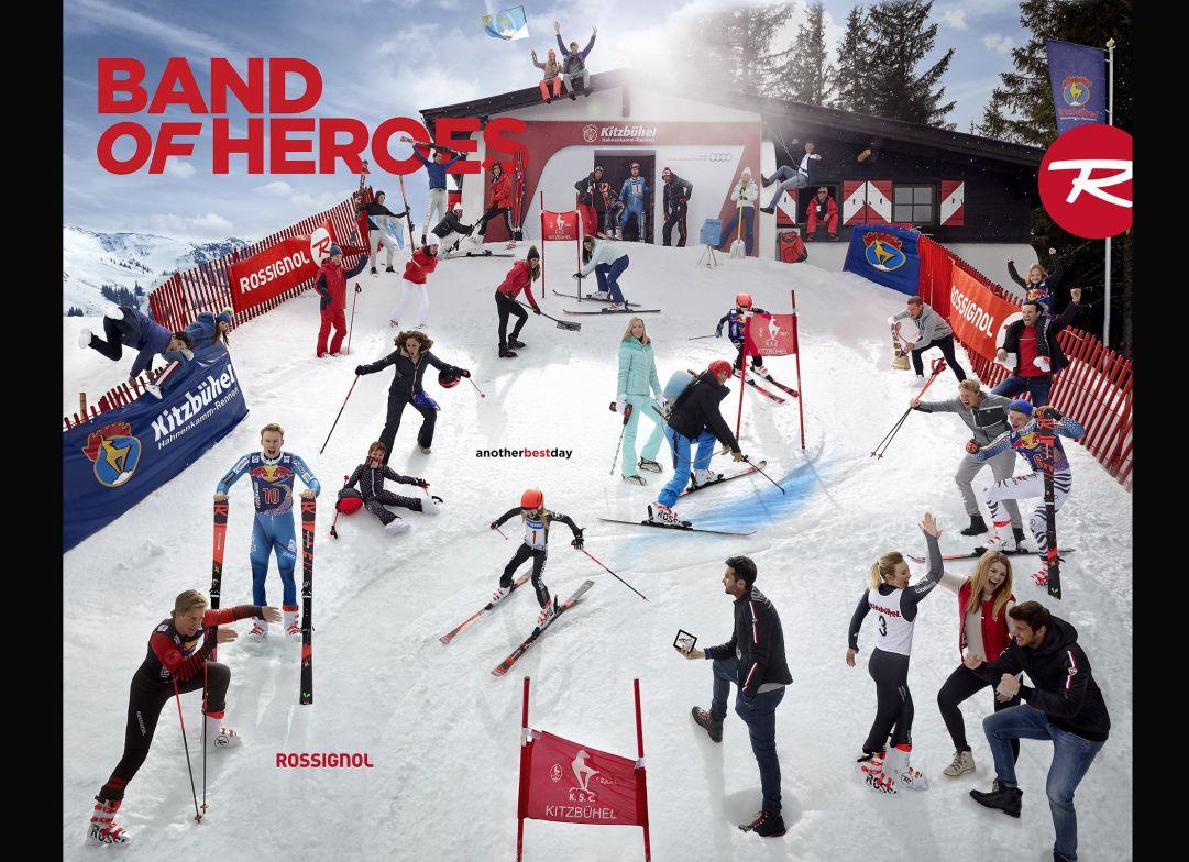 Al cancelletto della Streif di Kitzbühel si rinnova la 'Band Of Heroes' di Rossignol