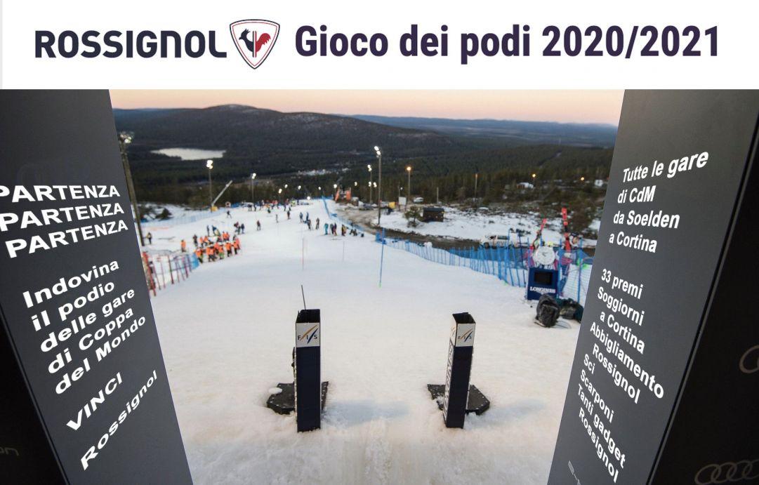 Rossignol Gioco dei Podi 2020/2021, da Soelden a Cortina si vincono 33 premi!