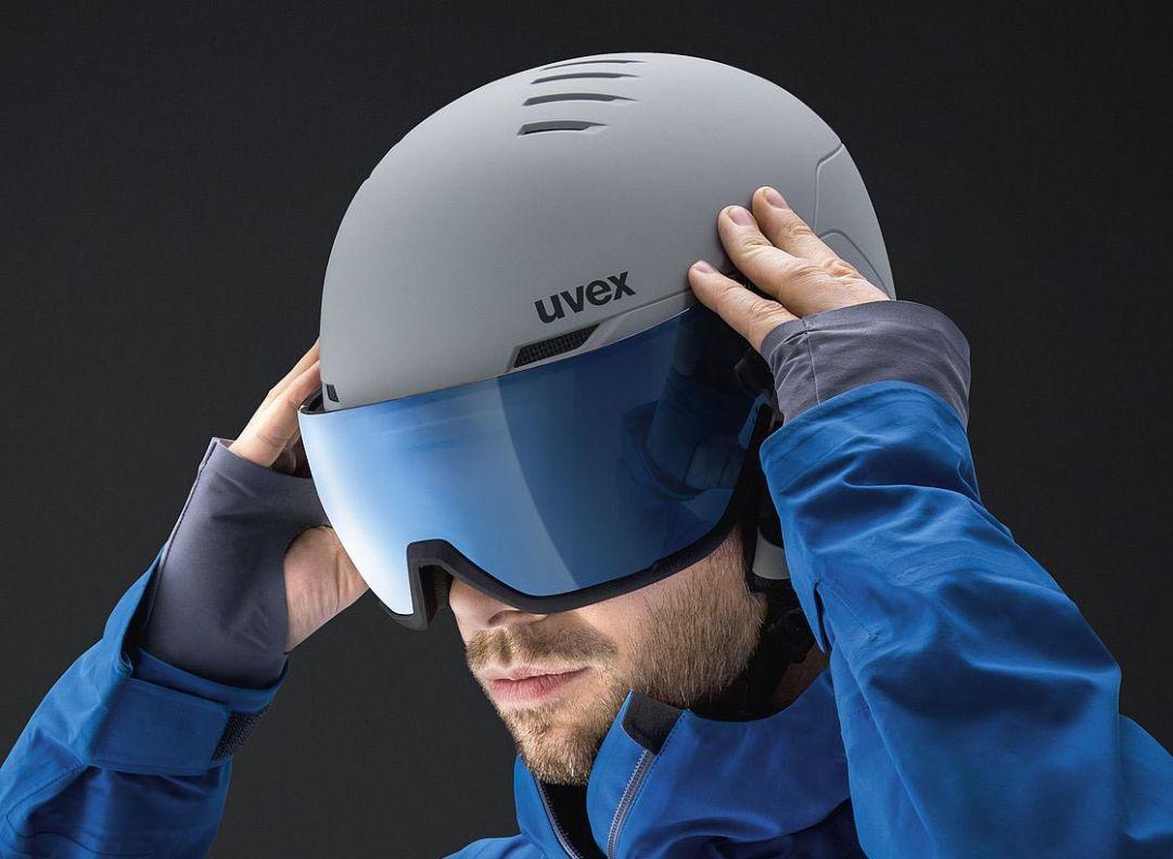 Uvex visor