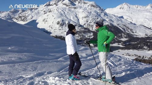 Snowboarding and Skiing Bardonecchia March 2016