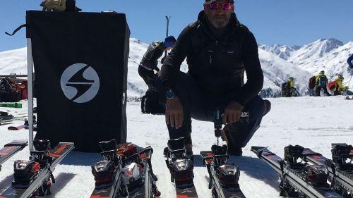 Test Racing Blizzard: Buby Del Castello vi aspetta a Les Deux Alpes fino al 31 luglio