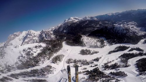 First Ski Alp in Piancavallo