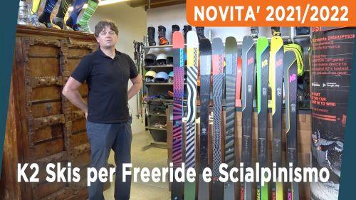 Scialpinismo, freeride, freerando. K2 Skis presenta la gamma completa per il 2021/2022
