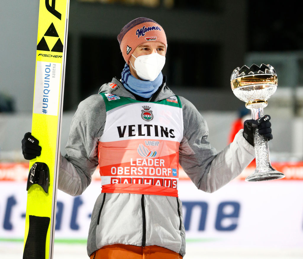 Karl Geiger winning Four Hills Tournament 2020 Oberstdorf