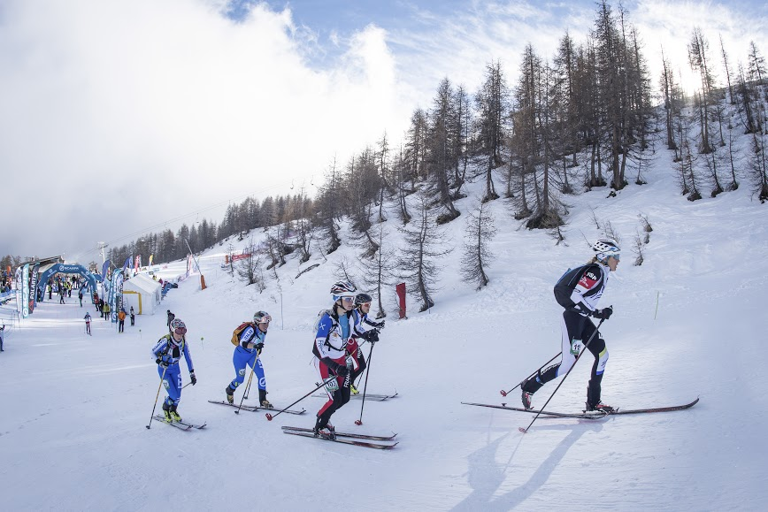 La Sprint Race di Puy-Saint-Vincent vinta da Robert Antonioli e Laetitia Roux