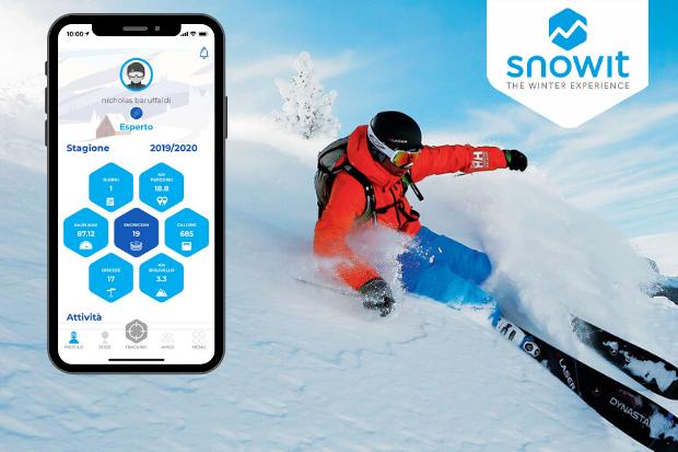 Snowit Tracker, ecco la nuova App per monitorare le performance in pista