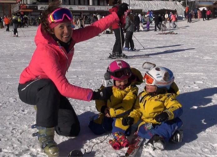 I primi esercizi per portare un bambino sugli sci. Come evitare la paura?