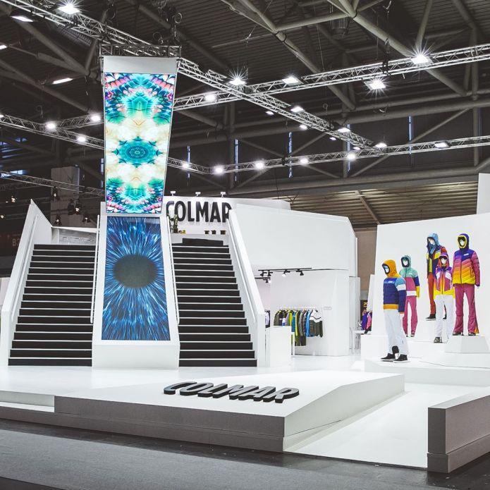 A ISPO di Monaco Fiere Colmar propone una collezione all'insegna del colore e dell'alta tecnologia
