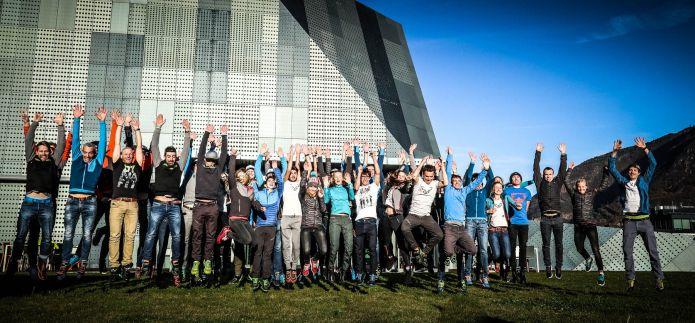 Gli atleti Dynafit danno il via alla stagione nell'Headquarter di Bolzano