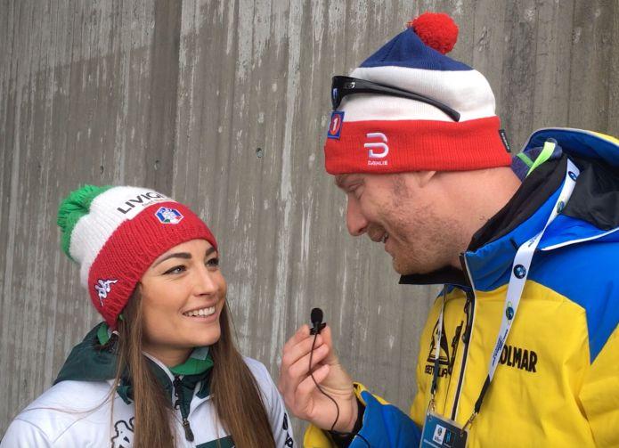 Intervista a Dorothea Wierer, che conquista la Coppa del Mondo di Biathlon a Holmenkollen