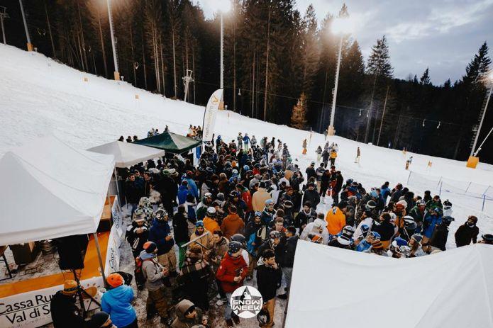 Dal 6 al 9 Dicembre la festa di inizio stagione è SnowWeek!