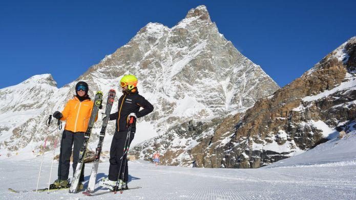 Migliori Piste - Cervinia dal Plateau Rosa alla Gran Pista di Valtournenche