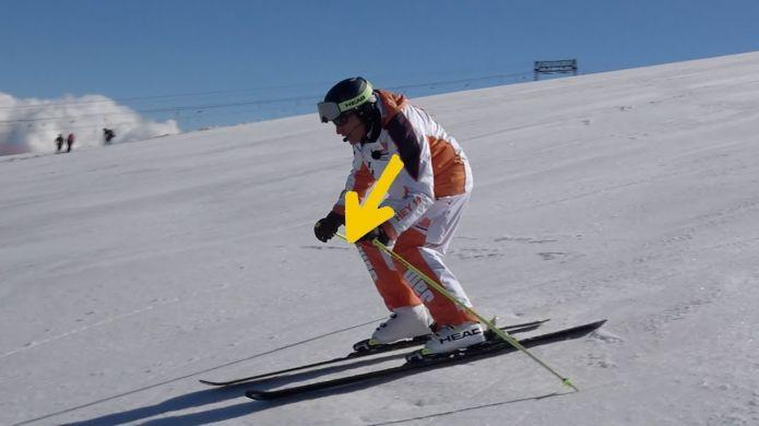 Quando la direzione della spalla esterna alla curva può ottimizzare l'azione - SCIARE MEGLIO S2 EP07
