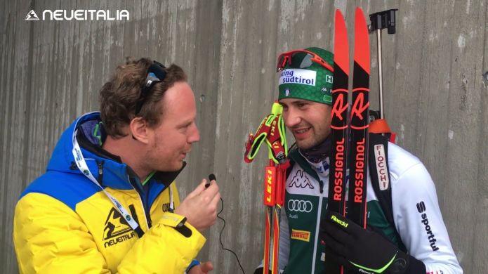 Intervista a Dominik Windisch alle finali di Coppa del mondo di Biathlon a Holmenkollen