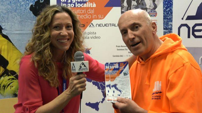 Valerio Malfatto a tutto campo in diretta al microfono di Neveitalia