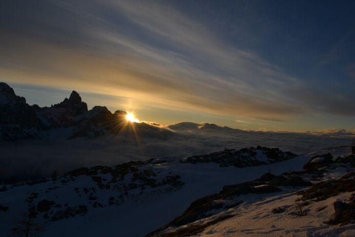 TrentinoSkiSunrise, per vivere l'alba sugli sci da un punto di vista privilegiato