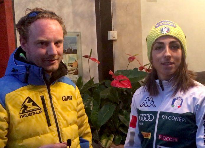 Intervista a Lisa Vittozzi a Holmenkollen in occasione delle finali di Coppa del mondo di Biathlon