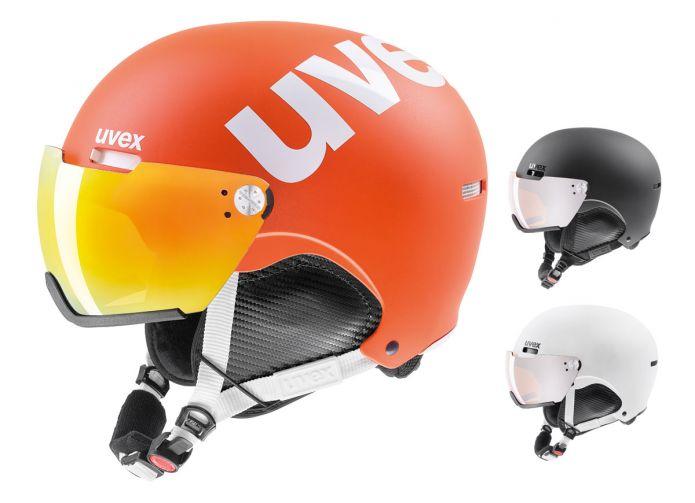 Uvex hlmt 500 visor, la perfezione è integrale