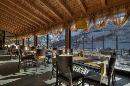 Camere con pista all'Hotel Maison de Neige in Valle d'Aosta