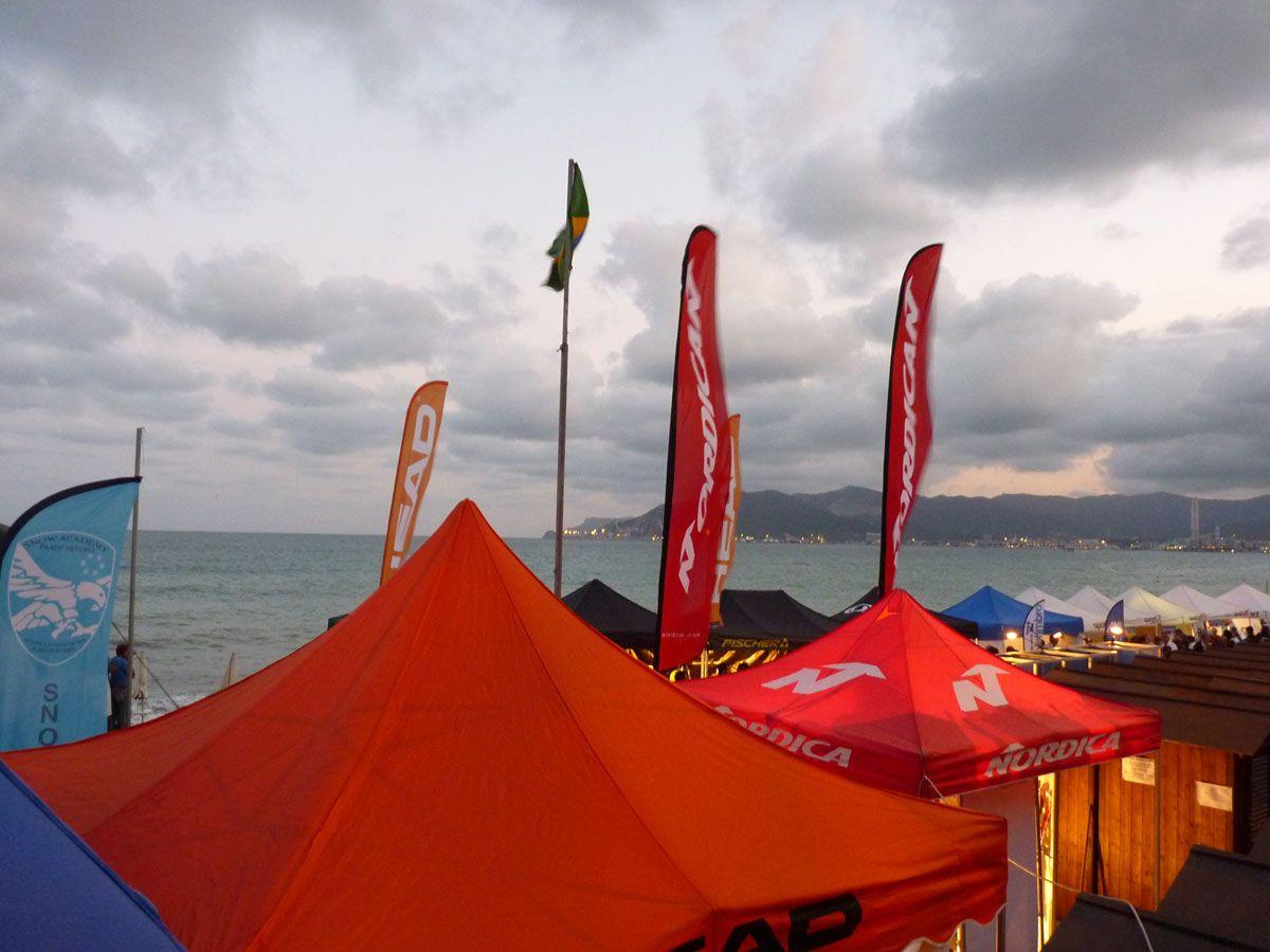organizzato da Sportart e dallo stabilimento balneare Bagnarci