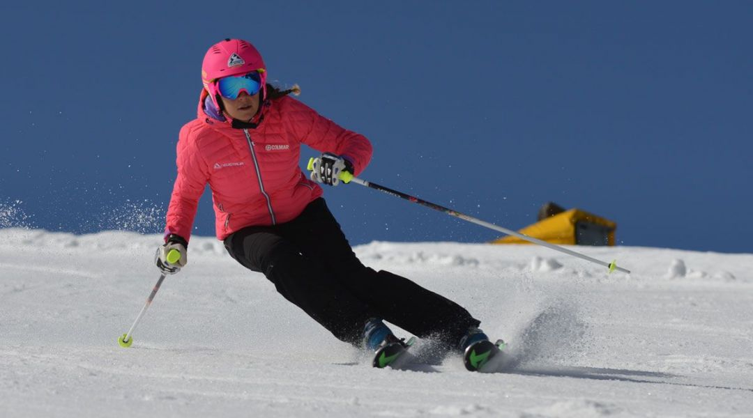 Laura Jardi al test di Nordica Dobermann SLR RB EVO (2017)