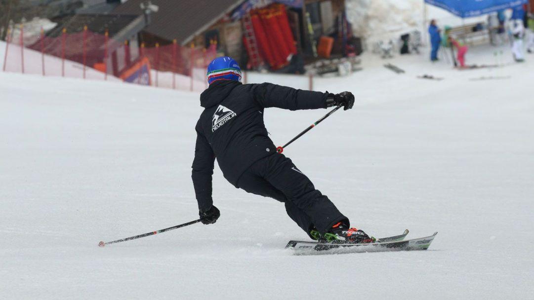 Pampeago Aprile 2014 Ski Test Neveitalia - Race Carve Slalom