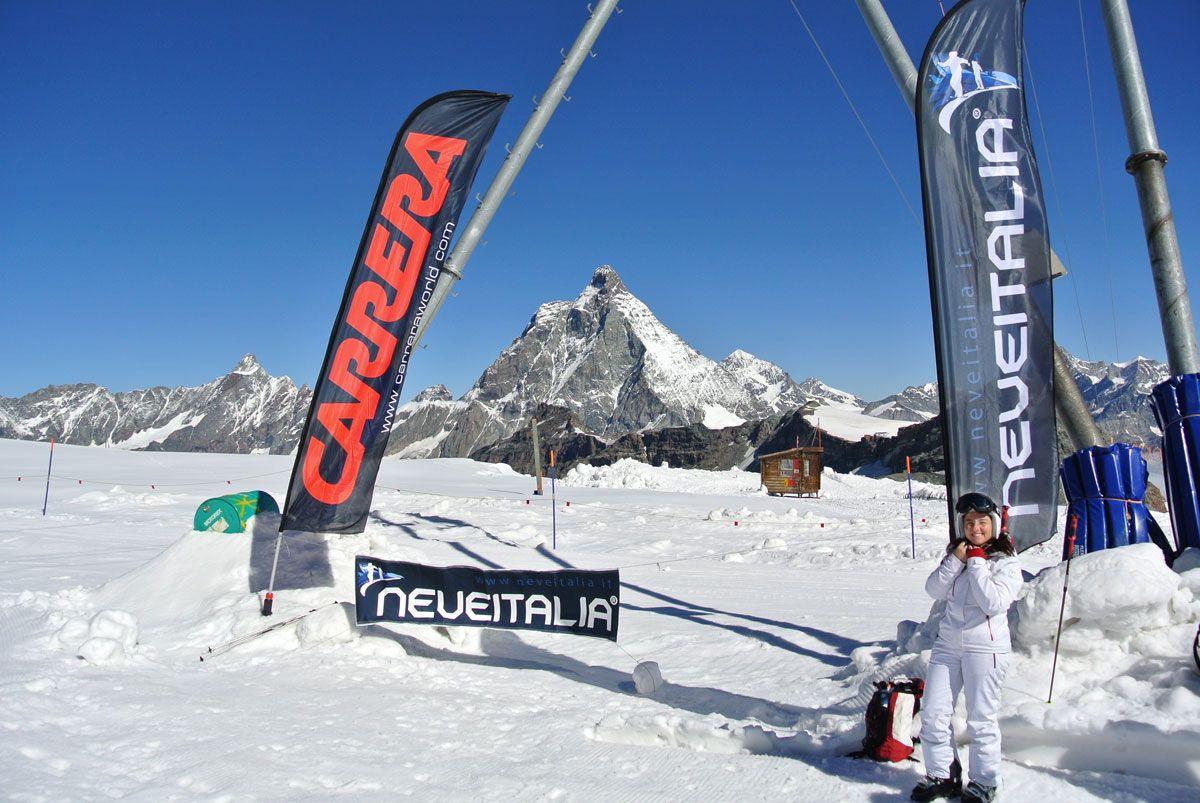 Cervinia, Ski Test Neveitalia luglio 2012
