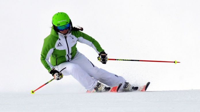 Isabel Anghilante al test di Rossignol Hero Elite ST Racing (2018)