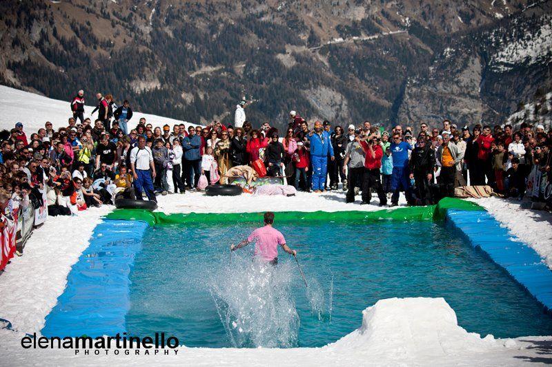 Canazei, festeggia la fine della stagione invernale 2012