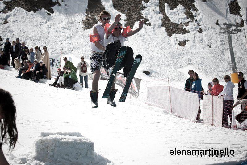 Canazei festeggia la fine della stagione invernale 2012