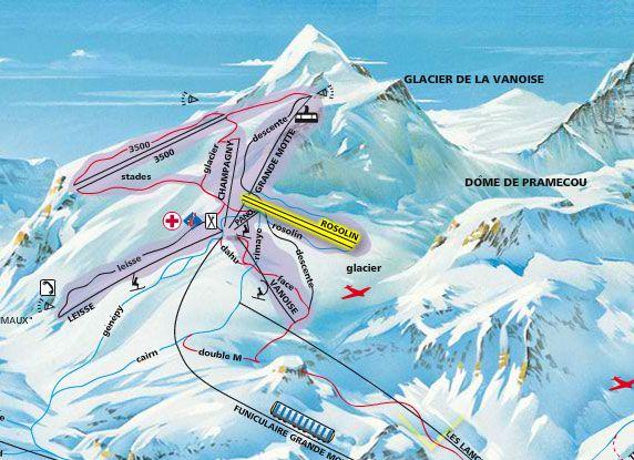 skilift Rosolin a Tignes