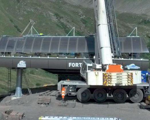 stazione a valle seggiovia del Fort