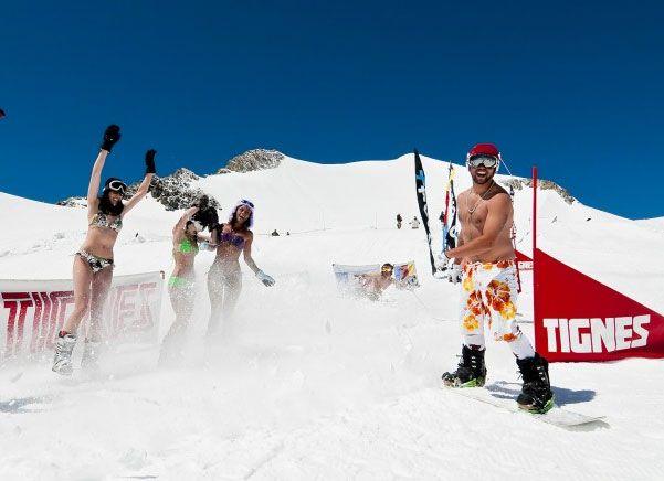 Tignes sci estivo