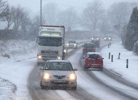 neve traffico