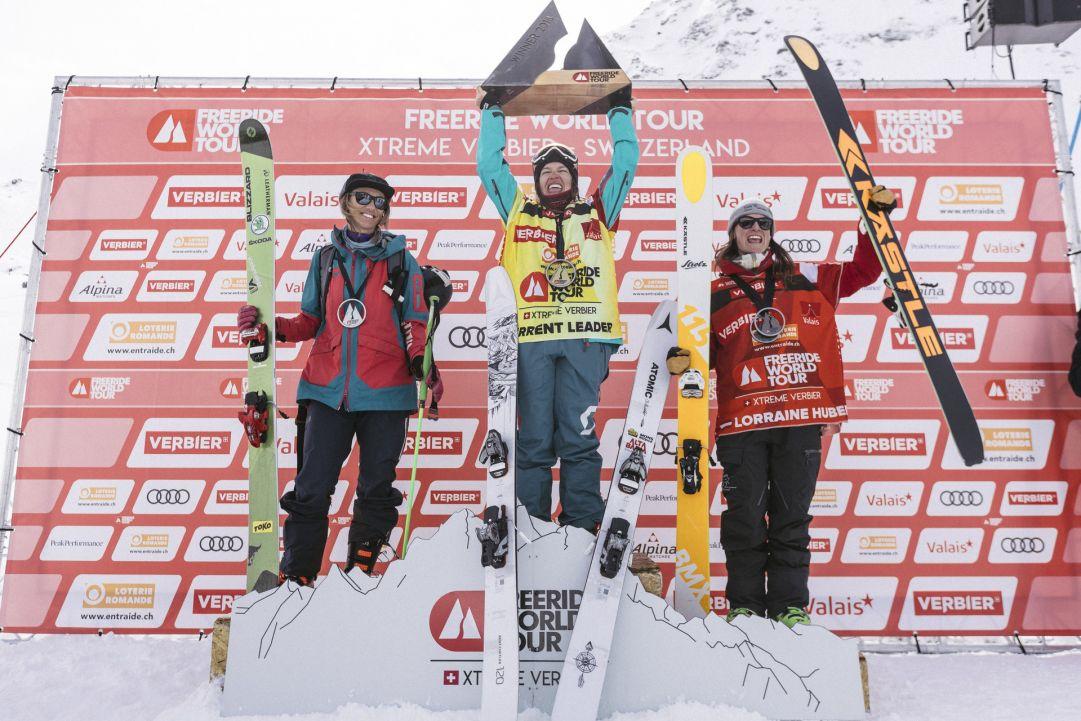 Arianna Tricomi prima sciatrice italiana a vincere il Freeride World Tour 2018