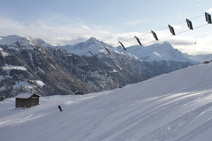 Il primo skilift completamente alimentato ad energia solare