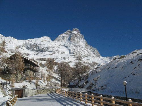Hosquet Lodge - Valle d'Aosta - vista innevata