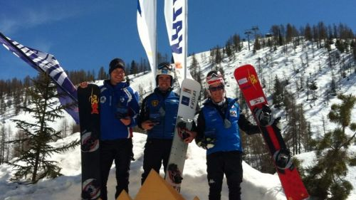 This is FIS Snowboard World Cup Piancavallo 2020