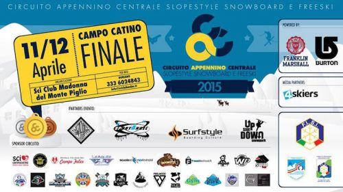 A Campocatino il gran finale del Circuito FISI di snowboard