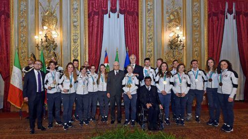 Gli azzurri medagliati olimpici e paralimpici di PyeongChang al Quirinaie