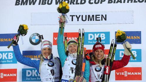 Darya Domracheva vince la sprint di Tyumen, Anastasiya Kuzmina la coppa di specialità