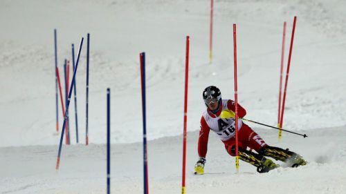 Giuliano Razzoli 2° dietro a Mattias Hargin nella prima manche dello slalom di Kranjska Gora, Marcel Hirscher a 2 secondi