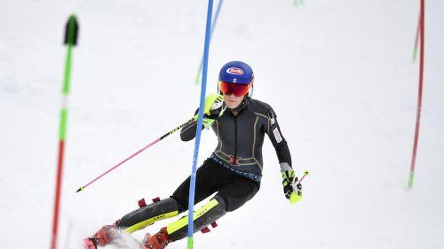 Mikaela Shiffrin comanda la prima manche dello slalom di Åre