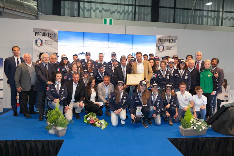 Assegnati i Fisi Award e il Gran Premio Pool Sci Italia nella giornata inaugurale di Prowinter a Bolzano