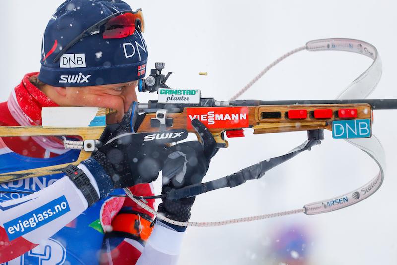 Alla Norvegia la staffetta maschile di Hochfilzen, quinta l'Italia