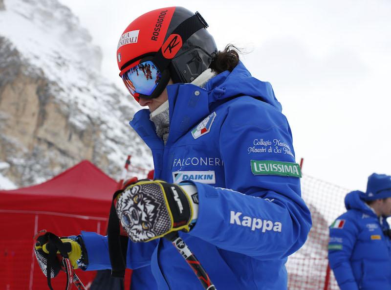 Niente superG di Cortina d'Ampezzo per Federica Brignone. Partenza della gara abbassata