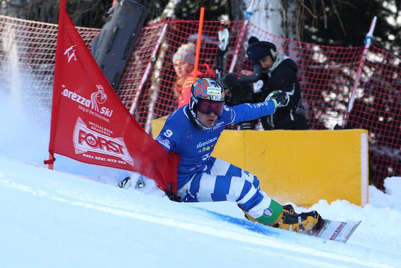 Edwin Coratti ancora sul podio: è secondo nel gigante parallelo di Coppa del Mondo di Bansko